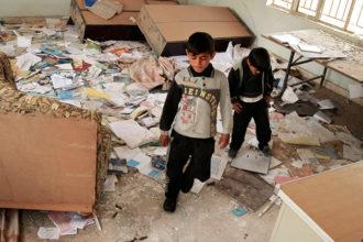 Oppimisen into ei ole sammunut, vaikka Mosulin kouluja on tuhottu.