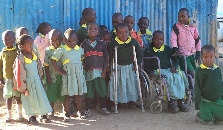 Kenia vammaiset lapset