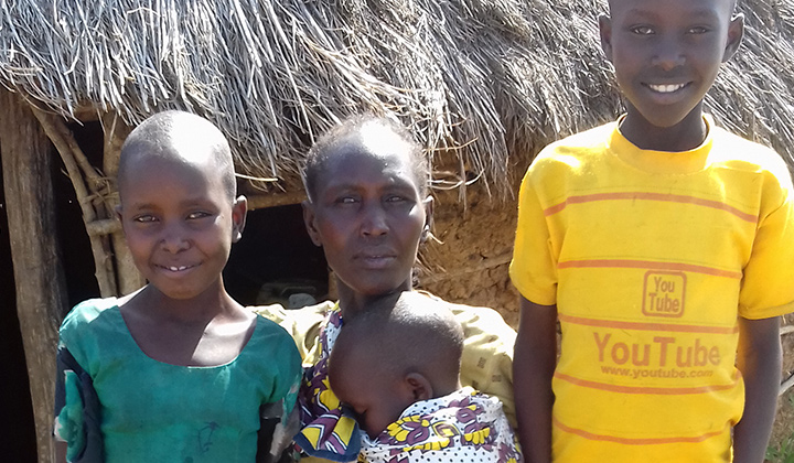 kenian köyhät kylät Fidan kummilapsityö