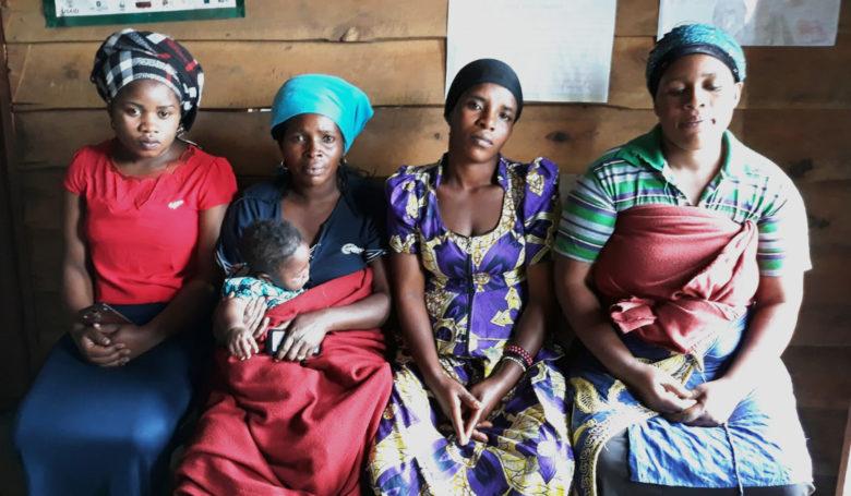 Äidit Kongossa