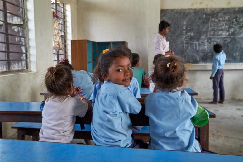 Musaharien Lapset Paasevat Kouluun Nepalissa Fida