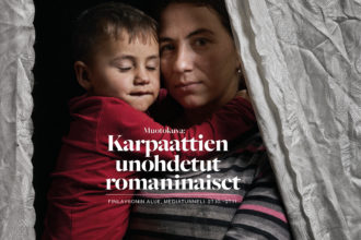 Karpaattien unohdetut romaninaiset näyttely Tampereella