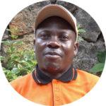 Welongo Faizi työskentelee Kongossa pakolaisten parissa