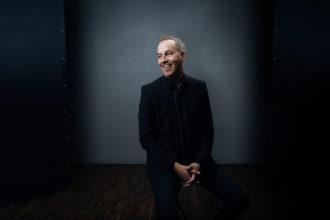 Tellus-konferenssin pääpuhuja Rob Ketterling kuvassa